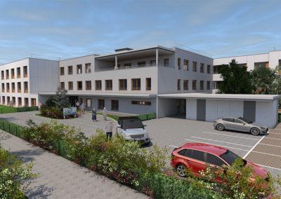New Construction Senecura Nursing Home Vassach